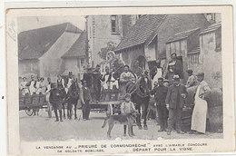Cormondrèche - La Vendange Au Prieuré - Départ Pour La Vigne - 1916       (P-207-90108) - NE Neuchâtel