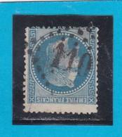 N° 29  - GC 110  ANNECY  / 89 / HAUTE-SAVOIE  - REF 12219 + Variété + Piquage - 1863-1870 Napoléon III. Laure