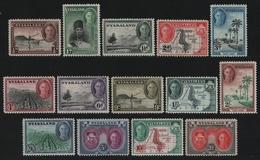 Nyassaland 1945 - Mi-Nr. 70-83 ** - MNH - Freimarken / Definitives - George VI - Nyassaland (1907-1953)