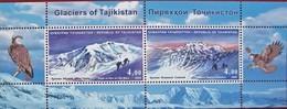 Tajikistan  2009 Glaciers Of  Tajikistan  S/S MNH - Tadjikistan