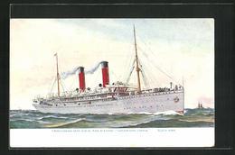 AK Union Castle Line Royal Mail Steamer Kenilworth Castle - Post & Briefboten