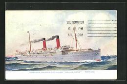 AK Union Castle Line Royal Mail Steamer Armadale Castle - Post & Briefboten