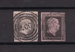Preussen - 1850 - Michel Nr. 2 A/b - Gest. - 60 Euro - Prussia