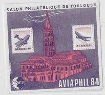 France Bloc CNEP 1984 N°5A AVIAPHIL - CNEP