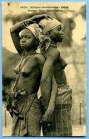 CPA Afrique Occidentale Sénégal Nu Ethnique Jeunes Filles Mandingues Seins Nus Fortier 1079 - South, East, West Africa