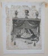 Ex-libris Illustré XVIIIème - WILHELM - Ex-libris