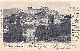 Un Saluto Da Bellinzona  - Affranc. UPU - 1900       (P-207-90108) - TI Ticino