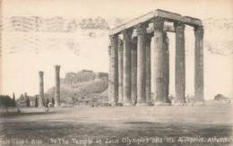 ATHENES - ATHENS - THE TEMPLE OF ZEUS - Griechenland