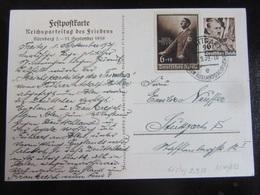 Postkarte Postcard Propaganda Reichsparteitag Reichsparteitage Parteitag - Allemagne