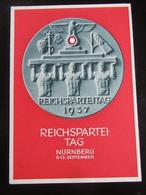Postkarte Postcard Propaganda Reichsparteitag Reichsparteitage Parteitag - Briefe U. Dokumente