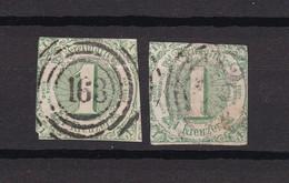 Thurn Und Taxis - 1859/61 - Michel Nr. 20 - Gest. - 20 Euro - Thurn Und Taxis