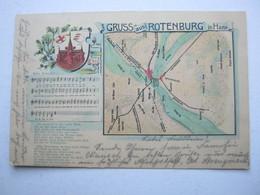 ROTENBURG (Wümme) , Seltene Karte Um 1905 - Rotenburg (Wuemme)