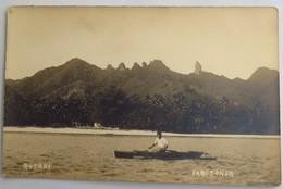 C. P. A. : RAROTONGA, RUTAKI, Man In Canoe - Cook