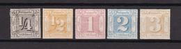 Thurn Und Taxis - 1866 - Michel Nr. 45+47/50 - Ungebr. - Thurn Und Taxis