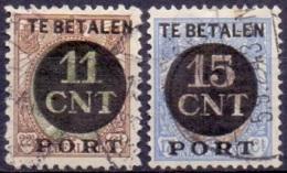 Nederland 1924 Postpakket-Verrekenzegels - Period 1891-1948 (Wilhelmina)