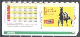 Le Plus Rare De Tous Ancien Ticket PMU : Grand National Du Trot  Pour Collectionneur Ou Déco BAR PMU - Vieux Papiers