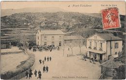 Port Vendres : Vue De La Gare - Port Vendres