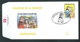 FDC. P 1385.   BD  N° 3010 Luc Orient    2-10-1999. - Bandes Dessinées