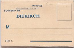 SOUVENIR DE DIEKIRCH - SERIE 1 - Diekirch