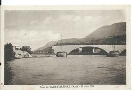SAULT-BRENAZ   ( AIN ) PONT DE SAULT-BRENAZ _ 19 JUIN 1940 - Otros Municipios