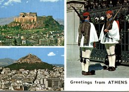 ATHENES  GREETINGS FROM ATHENS - Griechenland