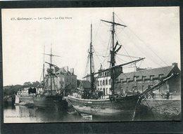 CPA - QUIMPER - Les Quais - Le Cap Horn - Bateaux De Pêche - Quimper