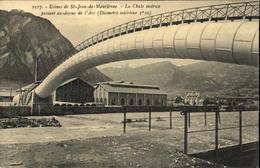 73  Usines De SAINT JEAN DE MAURIENNE  La Chute Motrice - Saint Jean De Maurienne