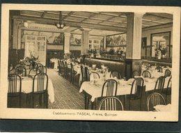 CPA - QUIMPER - Ets PASCAL Frères - La Salle De Restaurant - Quimper