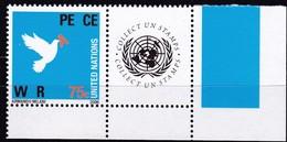UNO-New York, 2006, 1019,  MNH **, Grußmarke: Krieg Und Frieden. - New York -  VN Hauptquartier