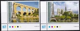UNO-New York, 2006, 1022/23,  MNH **,  UNESCO-Welterbe: Frankreich. - New York -  VN Hauptquartier