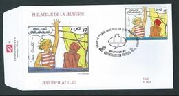 FDC. P 1324.   BD  N° 2841.     2-10-1999. - Bandes Dessinées