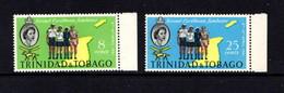 TRINIDAD  AND  TOBAGO    1961    Caribbean  Scout  Jamboree    Set  Of  2    MNH - Trinidad & Tobago (...-1961)
