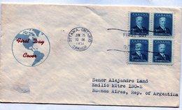 CANADA 1951 FDC OTTAWA ONTARIO SIR R. L. BORDEN - NTVG. - 1937-1952 Reinado De George VI