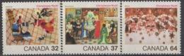 CANADA - Noël 1984 - 1952-.... Regno Di Elizabeth II