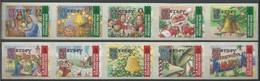 Jersey 2001 Yvertn° 1000-1009 *** MNH  Cote 14 € Noël Kerstmis Christmas - Jersey