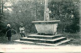 CPA -  VERNON - FORET DE BIZY - TOMBEAU DE SAINTE-MAUXE - Vernon
