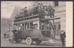 AK - Walter Gries, Und Hauderei, WERMELSKIRCHEN, Autobus,  Dhünn - Wermelskirchen, 1912 - Wermelskirchen