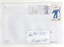 """: Beau Timbre , Stamp  Yvert N° 2868 """" Les Ballets Suédois """" , Avec Bords , Sur Lettre , Cover , Mail Du 29/04/1994 - France"""