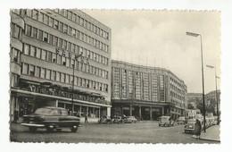 Bruxelles Air Terminus Sabena Et Gare Centrale Carte Postale Ancienne - Spoorwegen, Stations