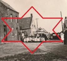 Photo 1917 PARPEVILLE (près Ribemont) - Enfants Dans Une Rue (A218, Ww1, Wk 1) - France