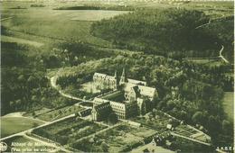 Abbaye De Maredsous (vue Prise Par Avion) (carte Postale Avec Photo Cp Ancienne) - Anhée