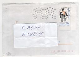 """: Beau Timbre , Stamp  Yvert N° 2869 """" Les Ballets Suédois """" , Avec Bords , Sur Lettre , Cover , Mail Du 09/06/1994 - France"""