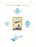 1976 - 75e Anniversaire De L'Aéro-Club Royal De Belgique. - Blokken 1962-....