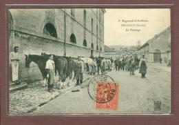 BESANCON (25) - 5e REGIMENT D'ARTILLERIE - LE PANSAGE DES CHEVAUX - Besancon