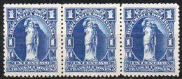 Bolivia 1934. **. 3x H&A #49. Perf. 12.5 1 C. Ultramarino Opaco. MUY Escasa Circulación. Transacciones. Waterlow & Sons - Bolivia