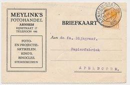 Firma Briefkaart Arnhem 1926 - Fotohandel - Period 1891-1948 (Wilhelmina)