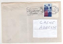 """: Beau Timbre , Stamp  Yvert N° 3016 """" Jeux Olympiques """" , Bord Avec Croix , Sur Lettre , Cover , Mail Du 30/08/1995 - France"""