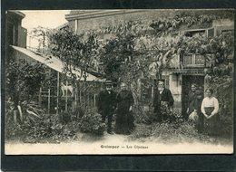 CPA - QUIMPER - Les Glycines, Animé - Quimper