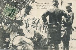 Sidi Daoud General D' Amade Né à Toulouse Mort à Fronsac Assistant à L' Agonie D Un Tirailleur . German Morocco Stamp . - Morocco