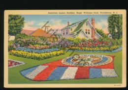 Providence R.I. - American Legion Emblem - Roger Williams Park [AA46-5.694 - United States